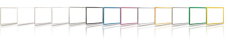 Verfügbare Farben der dekorativen Innenrahmen